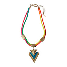 Buy Adele Marie Neon Two Rope Statement Necklace Online at johnlewis.com