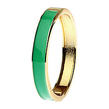 Buy Adele Marie Hinged Gold Bangle Online at johnlewis.com