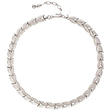 Buy Susan Caplan Vintage Bridal 1960s Trifari Silver Plated Leaf Link Necklace Online at johnlewis.com