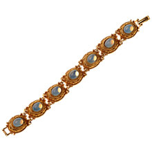 Buy Alice Joseph Vintage 1980s Faux Moonstone Gilt Bracelet, Blue Online at johnlewis.com