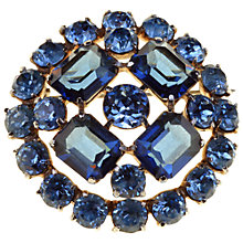 Buy Alice Joseph Vintage 1950s Mitchel Maer for Christian Dior Diamante Brooch, Blue Online at johnlewis.com