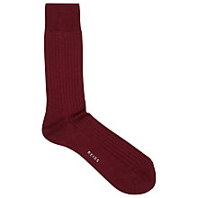 Buy Reiss Shackleton Plain Rib Socks, One Size Online at johnlewis.com