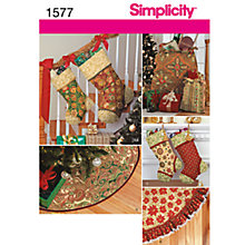 Buy Simplicity Craft Sewing Leaflet, 1577 Online at johnlewis.com