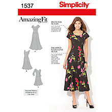 Buy Simplicity Amazing Fit Dresses Dressmaking Leaflet, 1537 Online at johnlewis.com