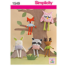 Buy Simplicity Craft Sewing Leaflet, 1549 Online at johnlewis.com