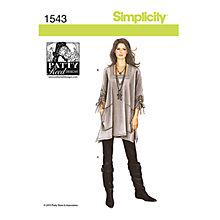 Buy Simplicity Patty Reed Top and Trousers Sewing Pattern, 1543 Online at johnlewis.com