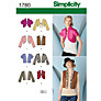 Buy Simplicity Jackets & Vests Sewing Leaflet, 1780, H5 Online at johnlewis.com