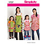 Buy Simplicity Craft Sewing Pattern, 1707, A Online at johnlewis.com