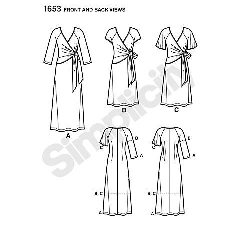 Buy Simplicity Amazing Fit Dresses Dressmaking Leaflet