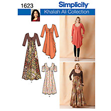 Buy Simplicity Plus Size Dressmaking Leaflet, 1623, BB Online at johnlewis.com