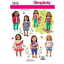 Buy Simplicity Craft Sewing Leaflet, 1513 Online at johnlewis.com