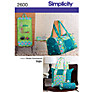 Buy Simplicity Bags Sewing Leaflet, 2600 Online at johnlewis.com