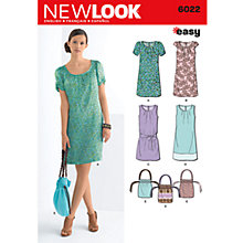 Buy Simplicity New Look Dresses Dressmaking Leaflet, 6022 Online at johnlewis.com