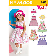 Buy Simplicity New Look Children Dressmaking Leaflet, 6879 Online at johnlewis.com