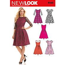 Buy Simplicity New Look Dresses Dressmaking Leaflet, 6143 Online at johnlewis.com