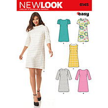 Buy Simplicity New Look Dresses Dressmaking Leaflet, 6145 Online at johnlewis.com