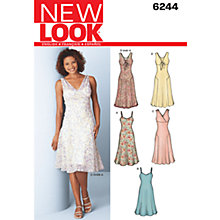 Buy New Look Women's Dresses Sewing Patterns, 6244 Online at johnlewis.com