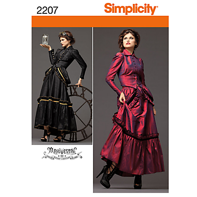 Simplicity Costume Dressmaking Leaflet 2207 £5.65 AT vintagedancer.com