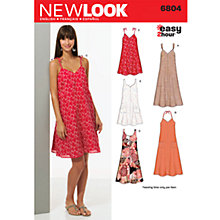 Buy Simplicity New Look Dresses Dressmaking Leaflet, 6804 Online at johnlewis.com