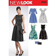Buy Simplicity New Look Dresses Dressmaking Leaflet, 6723 Online at johnlewis.com