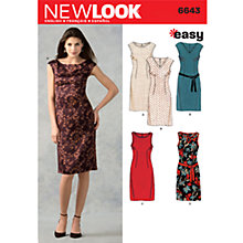 Buy Simplicity New Look Dresses Dressmaking Leaflet, 6643 Online at johnlewis.com