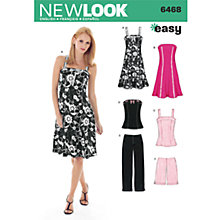 Buy Simplicity New Look Smart/Casual Dressmaking Leaflet, 6468 Online at johnlewis.com
