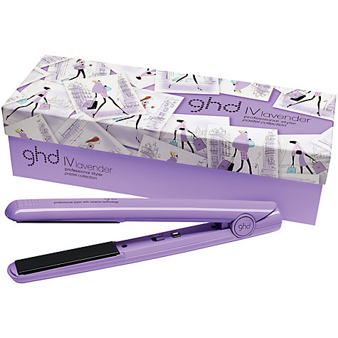Buy ghd IV Hair Styler, Lavender Online at johnlewis.com