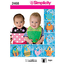Buy Simplicity Craft Sewing Pattern, 2468 Online at johnlewis.com
