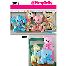 Buy Simplicity Craft Sewing Pattern, 2613 Online at johnlewis.com