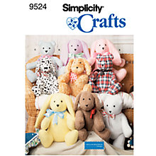 Buy Simplicity Craft Sewing Pattern, 9524 Online at johnlewis.com