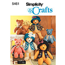 Buy Simplicity Craft Sewing Pattern, 5461 Online at johnlewis.com