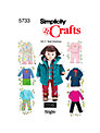 Simplicity Craft Sewing Pattern, 5733