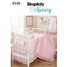 Buy Simplicity Nursery Accessories Sewing Pattern, 9140 Online at johnlewis.com