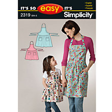 Buy Simplicity It's So Easy Craft Sewing Pattern, 2319, A Online at johnlewis.com