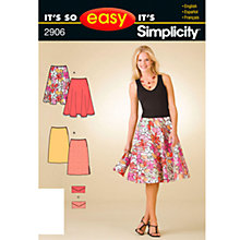 Buy Simplicity It's So Easy Skirts & Purse Sewing Leaflet, 2906, A Online at johnlewis.com