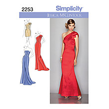 Buy Simplicity Special Occasion Dresses Sewing Pattern, 2253 Online at johnlewis.com