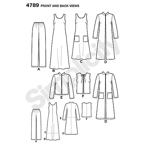 Buy Simplicity Easy to Sew Wardrobe Elements Sewing