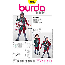 Buy Simplicity Burda Children Knight Costume Sewing Pattern, B9446 Online at johnlewis.com