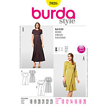 Buy Simplicity Burda Petite Dress Sewing Pattern, B7026 Online at johnlewis.com