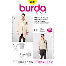 Buy Simplicity Burda Petite Coat and Jacket Sewing Pattern, B7028 Online at johnlewis.com
