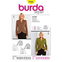 Buy Simplicity Burda Jacket Sewing Pattern, B7321 Online at johnlewis.com