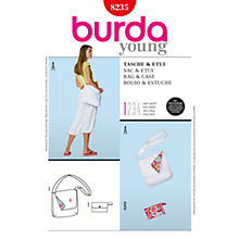 Buy Simplicity Burda Bag Sewing Pattern, B8235 Online at johnlewis.com