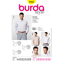 Buy Simplicity Burda Men & Boys Shirt Sewing Pattern, 7045 Online at johnlewis.com