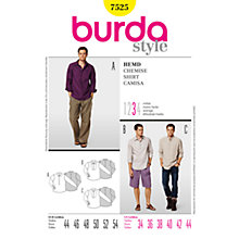 Buy Simplicity Burda Men & Boys Shirt Sewing Pattern, 7525 Online at johnlewis.com