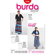 Buy Simplicity Burda Plus Sizes Women's Skirt Sewing Pattern, 7096 Online at johnlewis.com