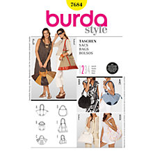 Buy Simplicity Burda Craft Women's Handbag Sewing Pattern, 7684 Online at johnlewis.com