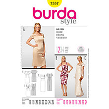 Buy Simplicity Burda Dress Sewing Pattern, B7557 Online at johnlewis.com