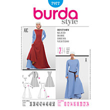 Buy Simplicity Burda Women's Damsel Costume Sewing Pattern, B7977 Online at johnlewis.com