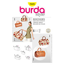 Buy Simplicity Burda Bags Sewing Pattern, B7119 Online at johnlewis.com
