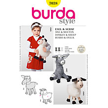 Buy Simplicity Burda Soft Toy Craft Sewing Pattern, B7038 Online at johnlewis.com